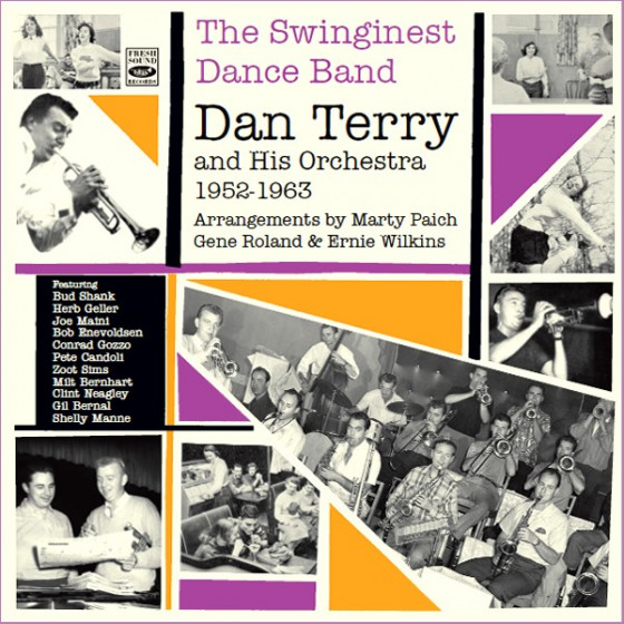 The Swinginest Dance Band - Dan Terry & His orchestra 1952-1963