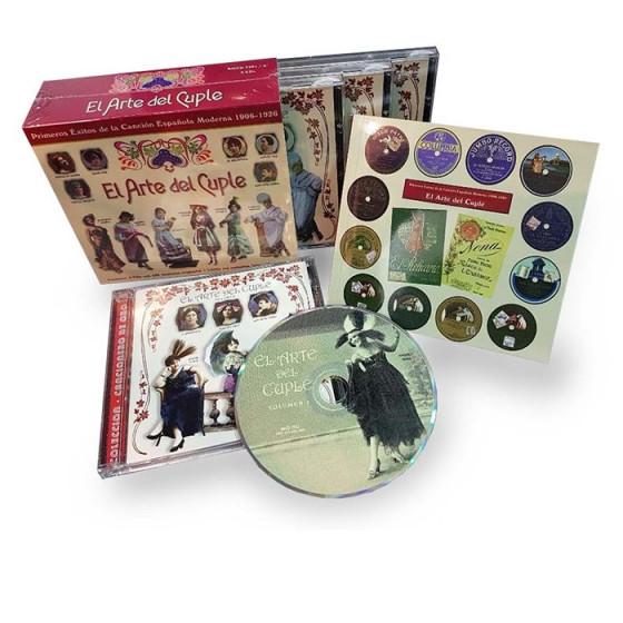 El Arte Del Cuplé: Primeros éxitos de la canción española moderna 1906-1926 (4-CD Box Set)