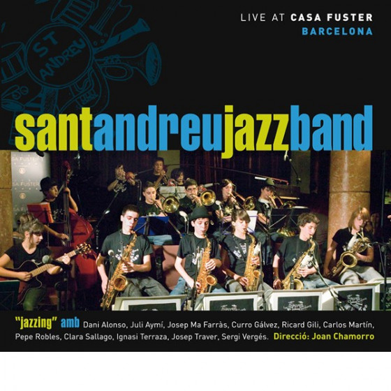 Jazzing 1, Live at Casa Fuster (CD + DVD)