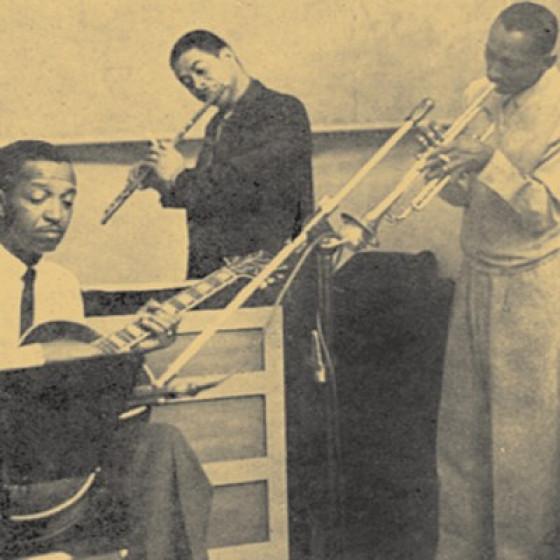 Freddie Green, Frank Wess & Joe Newman