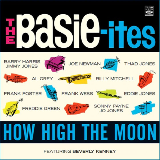 How High The Moon (2 LP on 1 CD) Feat. Beverly Kenney