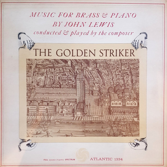 The Golden Striker · Music For Brass & Piano (Vinyl)