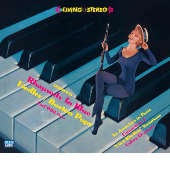 Gershwin: Rhapsody in Blue (2 LP in 1 CD) Digipack