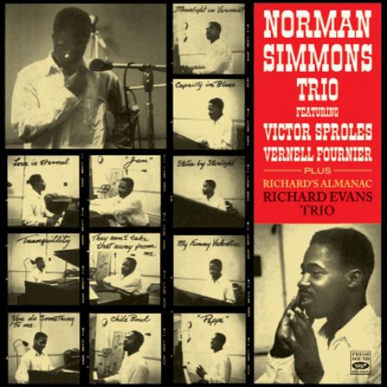 Norman Simmons Trio + Richard Evans Trio (2 LPs on 1 CD)