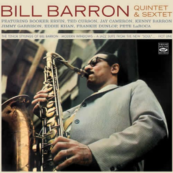 Bill Barron Quintet & Sextet (3 LPs on 2 CDs)