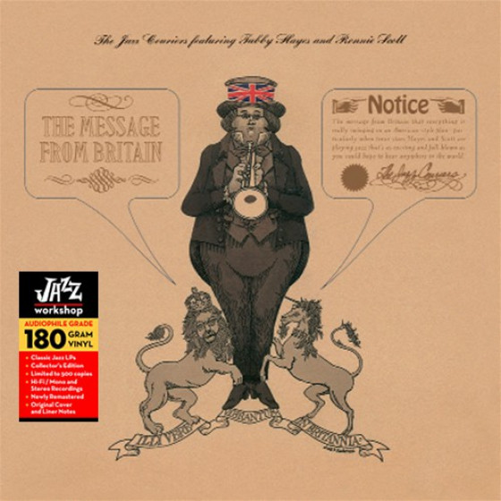 The Message From Britain (Audiophile 180gr. HQ Vinyl)