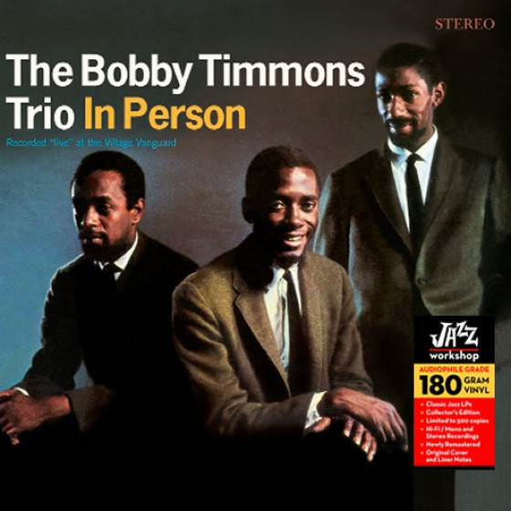 Bobby Timmons In Person Audiophile 180gr Hq Vinyl