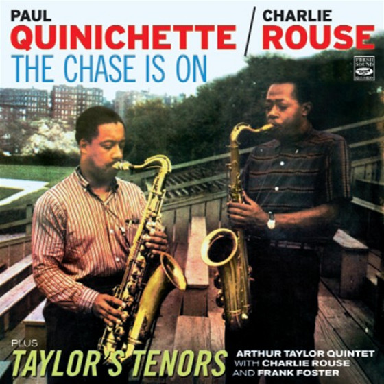 The Chase Is on + Taylor's Tenors (2 LP on 1 CD)