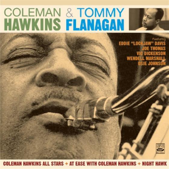 Coleman Hawkins & Tommy Flanagan (3 LPs on 2 CDs)