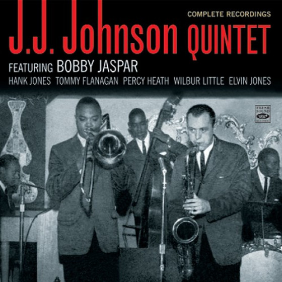 J.J. Johnson Quintet Featuring Bobby Jaspar - Complete Recordings (2CD set)