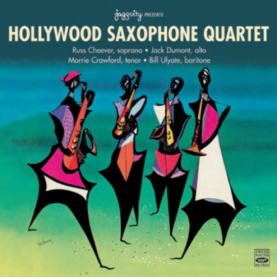 Hollywood Saxophone Quartet (2 LPs on 1 CD)