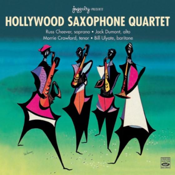 Hollywood Saxophone Quartet (2 LPs on 1 CD)